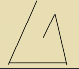 An attempt to draw a quadrilateral consisting entirely of acute angles